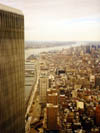 Blick vom World Trade Center Nov. 99